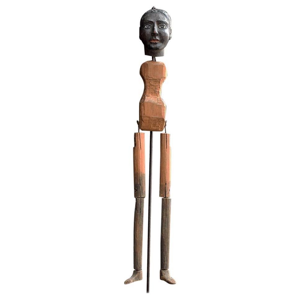 Mid-20th Century French Marionette Puppet Form