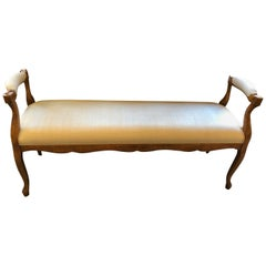 Mid-20th Century French Style Bench