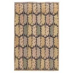 Mid-20th Century Geometric Swedish Tapestry Weave by Marta Mass-Fjetterström