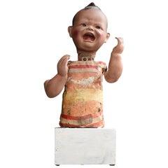 Mid-20th Century German Working Baby Doll Automaton Figure