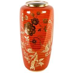 Mid-20th Century Gilt Porcelain Decorative Vase
