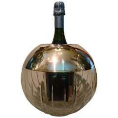 Mid-20th Century Globe Champagne / Wine Cooler, Italy, circa 1970