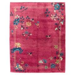 Mid-20th Century Handmade Chinese Art Deco Room Size Carpet
