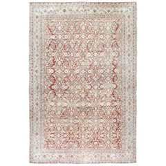 Mid-20th Century Handmade Cotton Agra Room Size Carpet