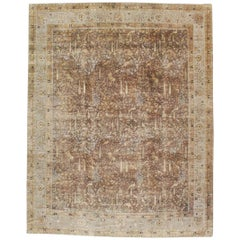 Mid-20th Century Handmade Indian Pictorial Lahore Large Room Size Carpet