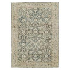 Mid-20th Century Handmade Persian Malayer Room Size Carpet