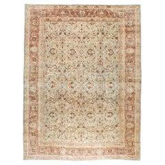 Mid-20th Century Handmade Persian Mashad Room Size Carpet, circa 1930