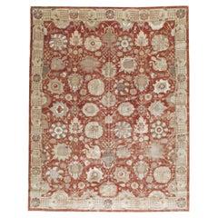 Mid-20th Century Handmade Persian Tabriz Room Size Carpet