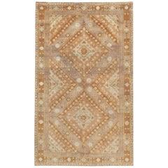 Mid-20th Century Handmade Samarkand Accent Rug
