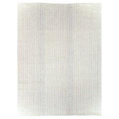 Mid-20th Century Handmade Turkish Flat-Weave Kilim Room Size Carpet