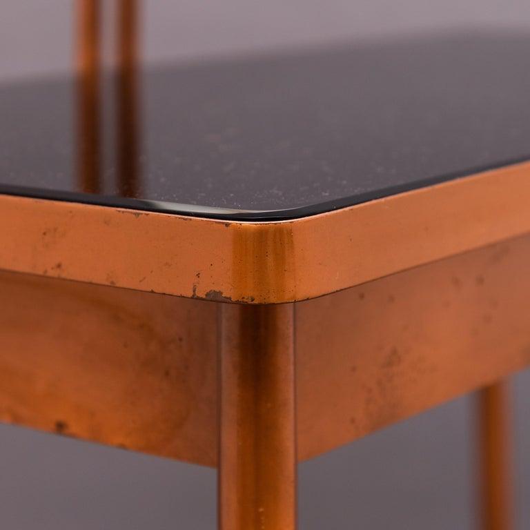 Mid-20th Century Italian Copper Vanity Table For Sale 6