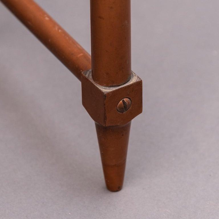 Mid-20th Century Italian Copper Vanity Table For Sale 7