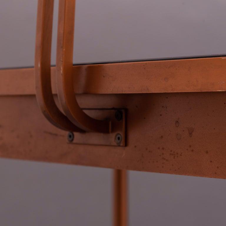 Mid-20th Century Italian Copper Vanity Table For Sale 1