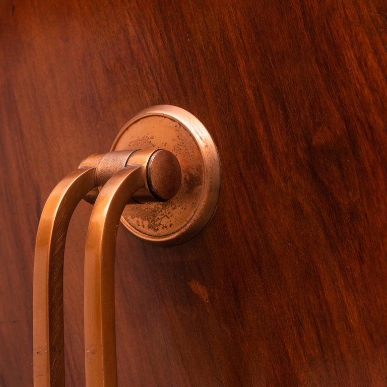 Mid-20th Century Italian Copper Vanity Table For Sale 3