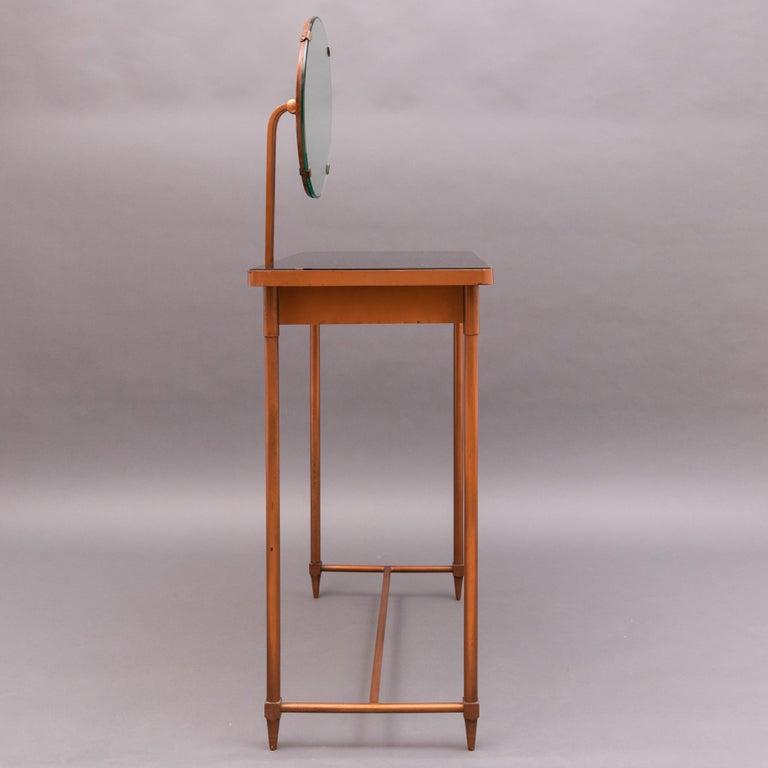 Mid-20th Century Italian Copper Vanity Table For Sale 4
