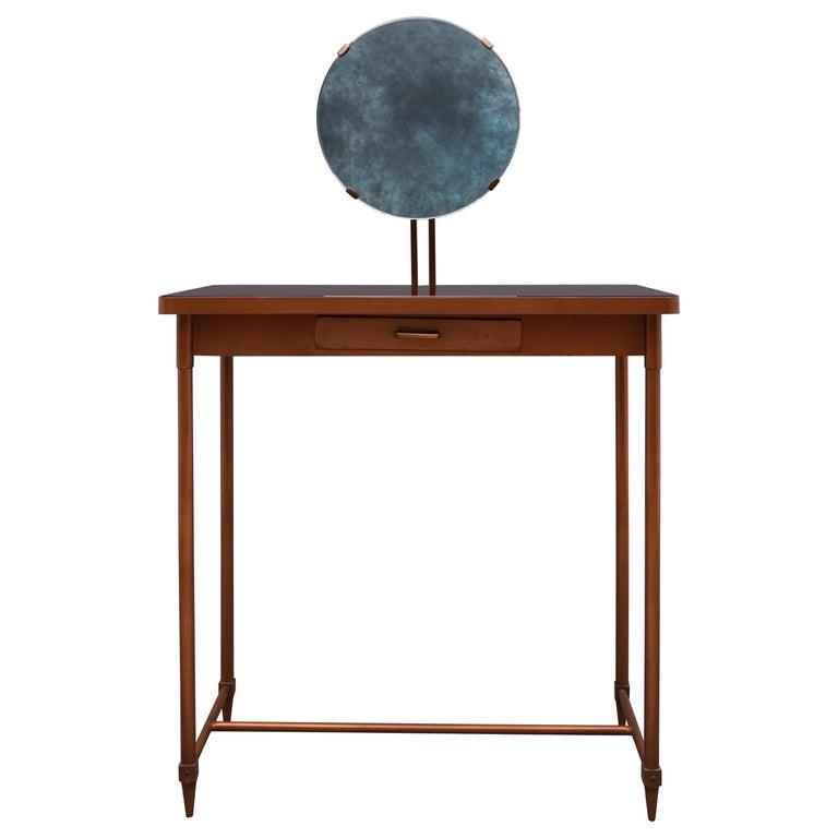 Mid-20th Century Italian Copper Vanity Table For Sale