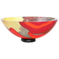 Mid-20th Century Italian Murano Glass Bowl