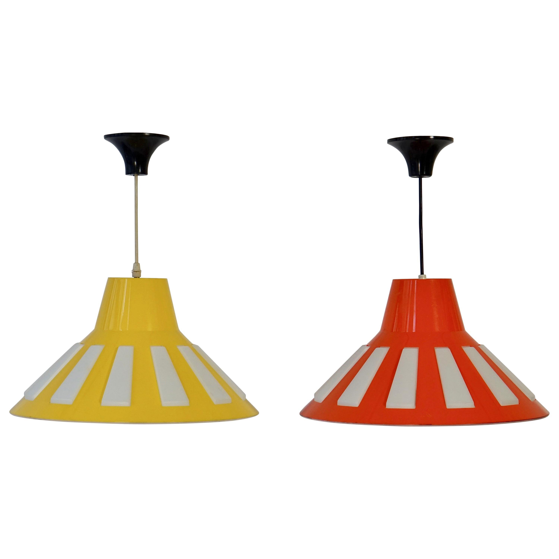 Mid-20th Century Italian Pendant Lights