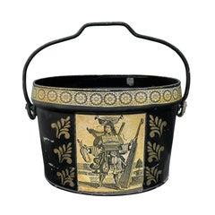 Mid-20th Century Large Tole Bucket