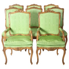 Mid-20th Century Louis XV Style Dining Room Chairs