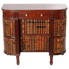 Mid-20th Century Mahogany or Books Design Writing Desk