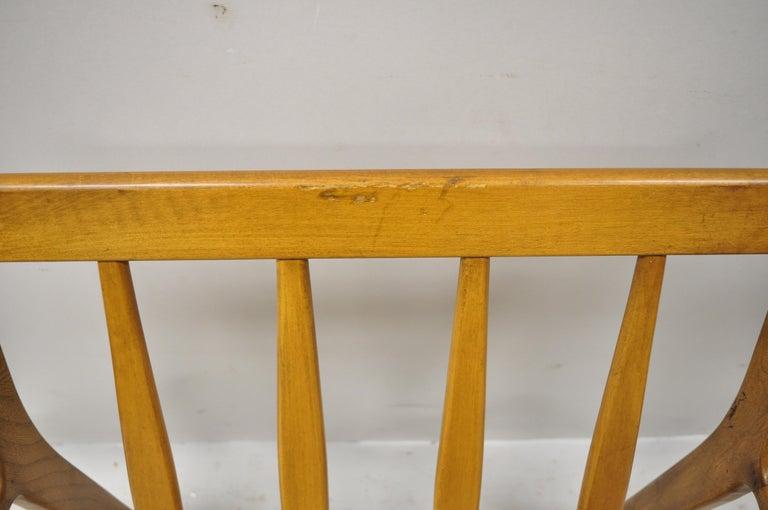 Mid-20th Century Modern Baumritter Walnut Lounge Danish Style Armchair For Sale 1