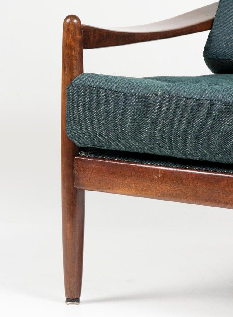 Mid-20th Century Modern Danish Armchair 4