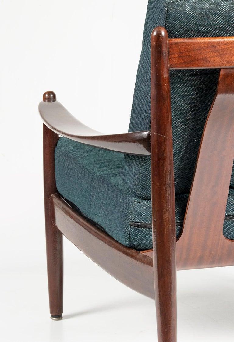 Mid-20th Century Modern Danish Armchair 10
