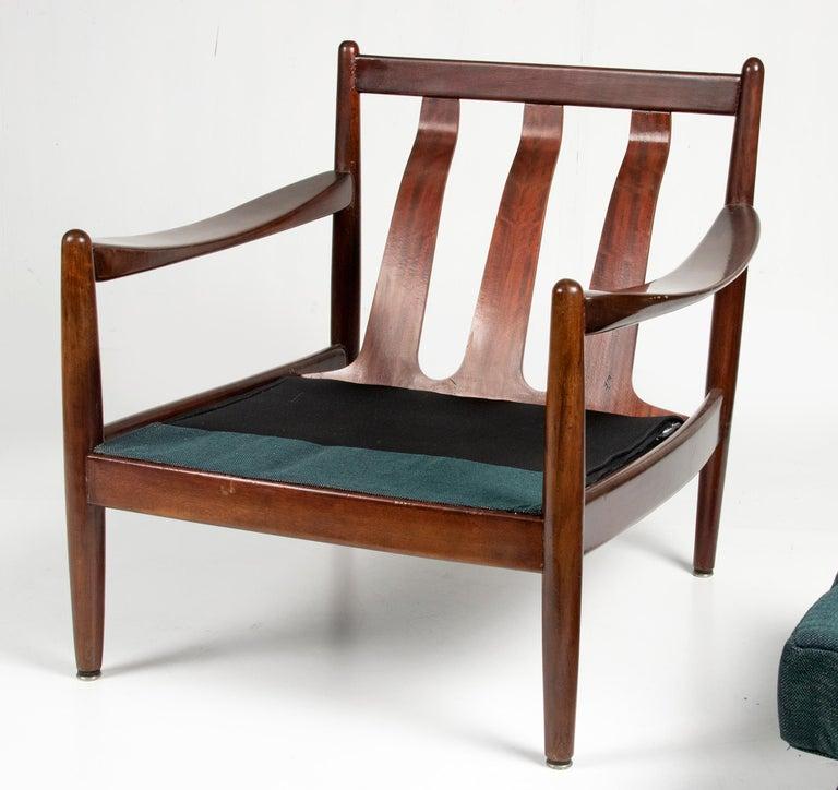 Mid-20th Century Modern Danish Armchair 11