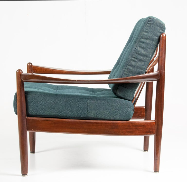 Hand-Crafted Mid-20th Century Modern Danish Armchair For Sale
