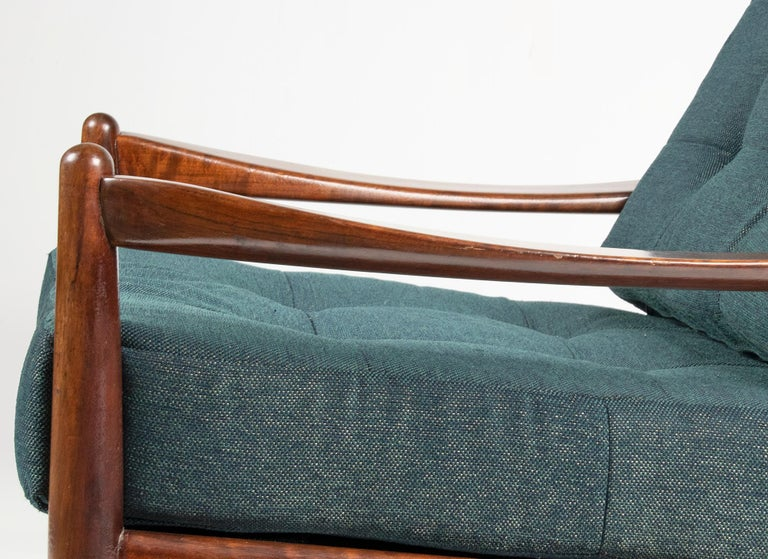 Wood Mid-20th Century Modern Danish Armchair For Sale