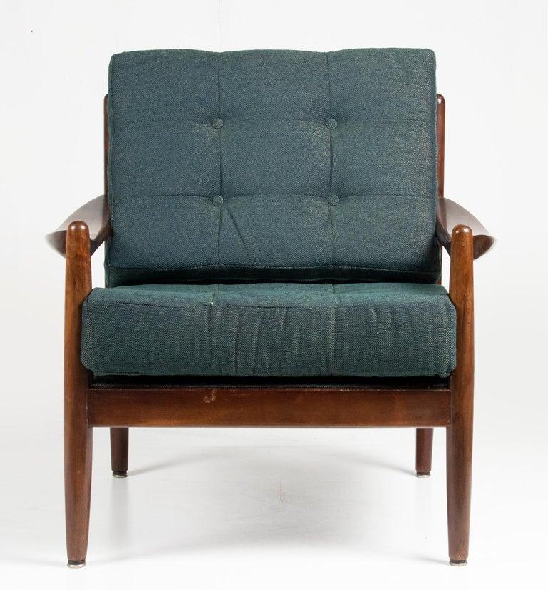 Mid-20th Century Modern Danish Armchair 1