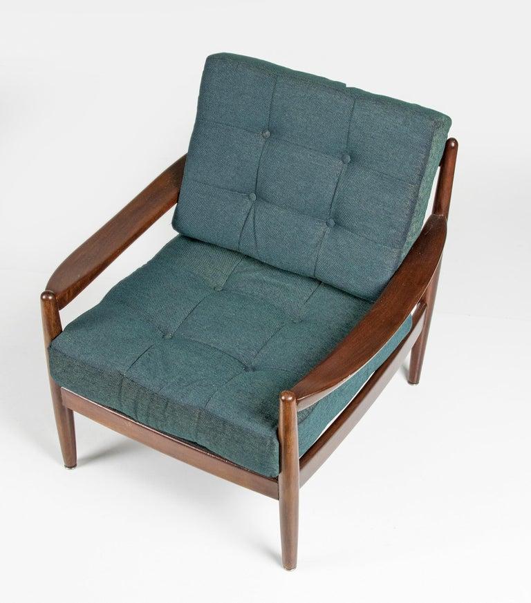 Mid-20th Century Modern Danish Armchair 3