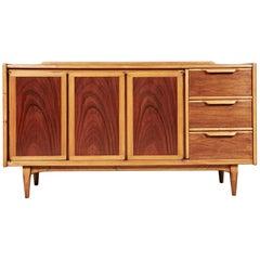 Mid-20th Century Modern Lane Furniture Walnut Credenza