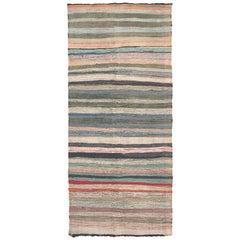 Mid-20th Century Moroccan Rag Rug