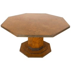 Mid-20th Century Octagonal Century Table