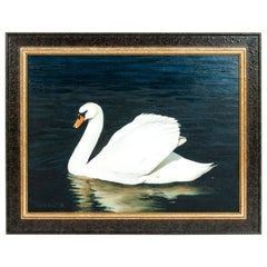 Mid-20th Century Oil / Canvas Wildlife Painting