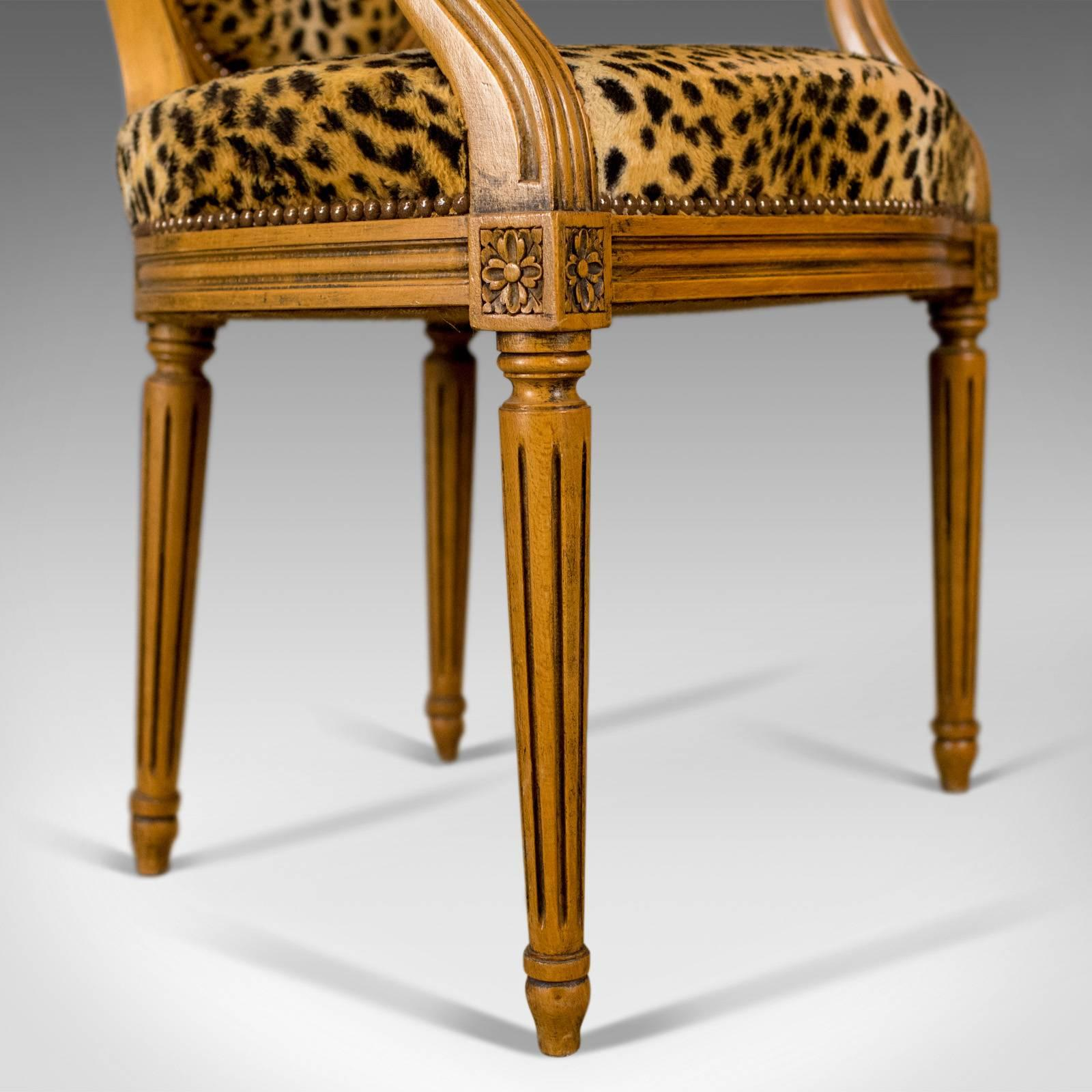 Mid-20th Century Pair of French Open Armchairs 78dbfe4bd