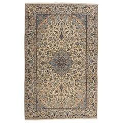 Late 20th Century Persian Nain Rug