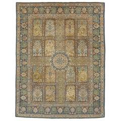 Mid-20th Century Persian Tabriz Rug