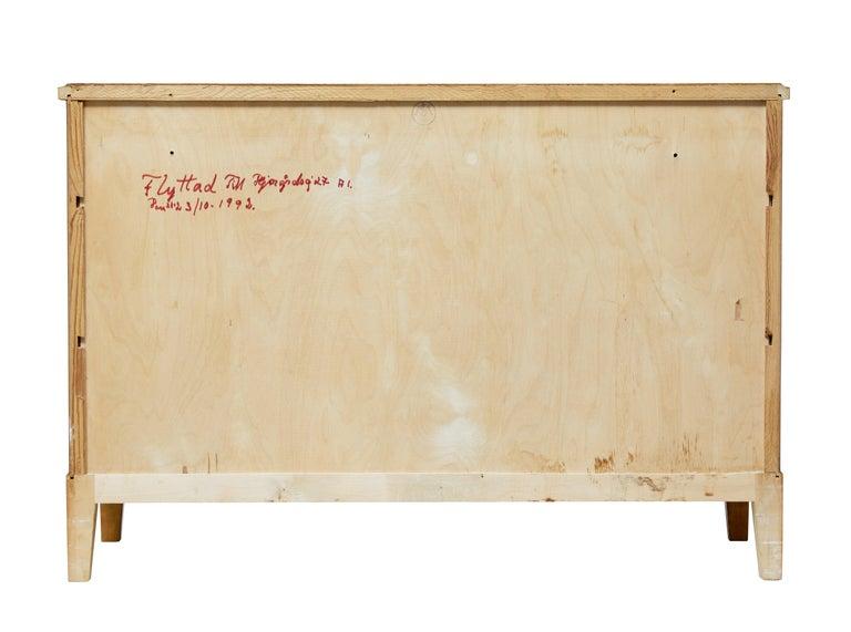 Veneer Mid-20th Century Scandinavian Design Birch Chest of Drawers For Sale