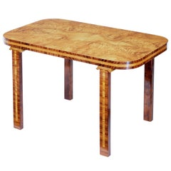 Mid-20th Century Scandinavian Elm Root Coffee Table