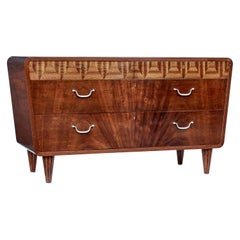 Mid-20th Century Scandinavian Modern Mahogany Chest of Drawers