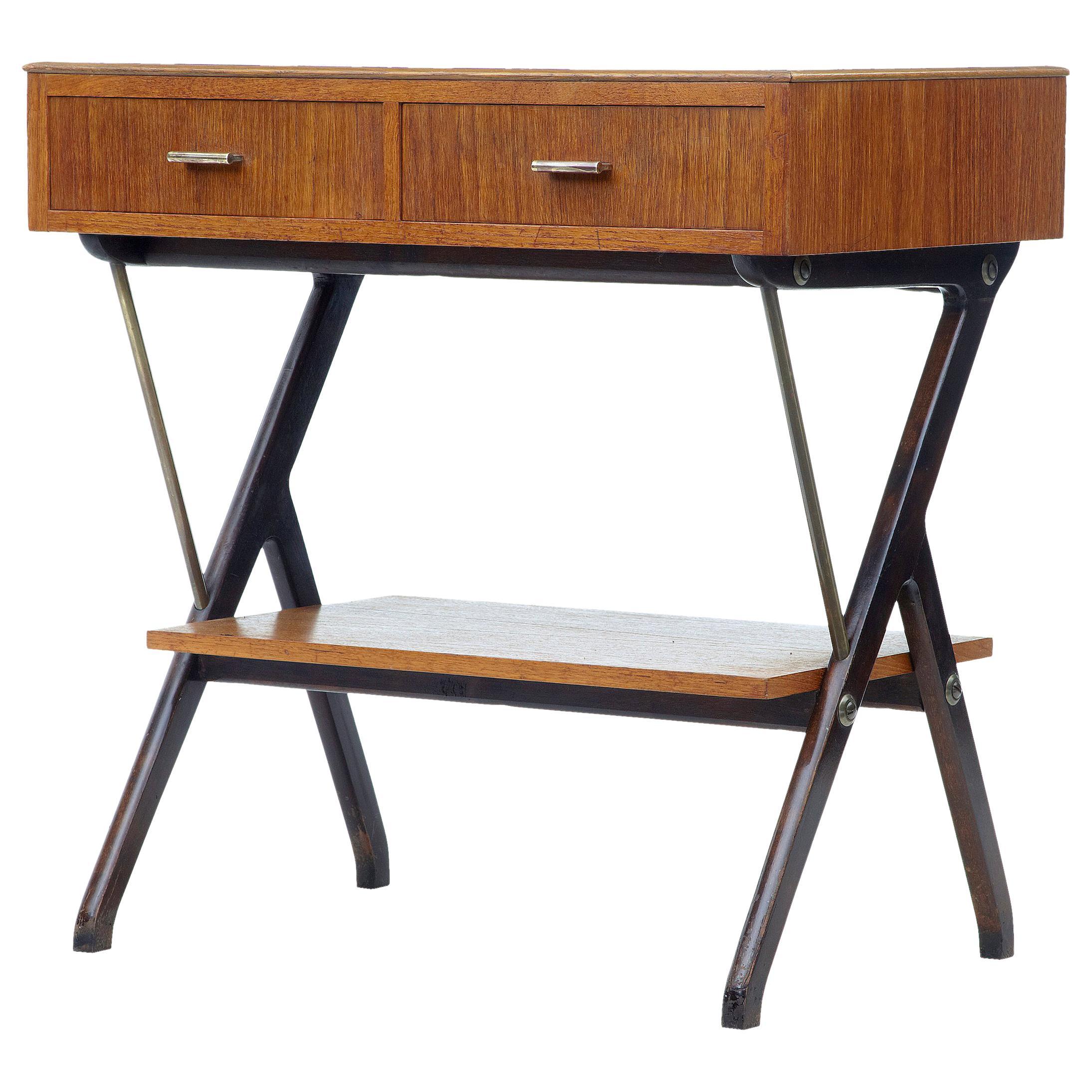 Mid-20th Century Scandinavian Modern Teak Side Table
