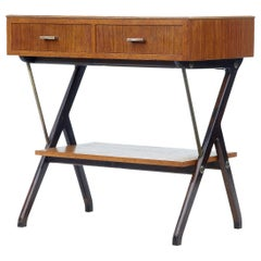 Mid-20th Century Scandinavian Modern Teak Side Table