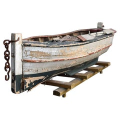 Mid-20th Century Scratch Built Fishing Boat