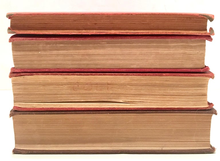 Mid-20th Century Set of Four 1st Edition Red Cloth Books In Good Condition For Sale In West Palm Beach, FL