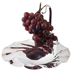 Mid-20th Century Silver Plate Grape Stand Centerpiece