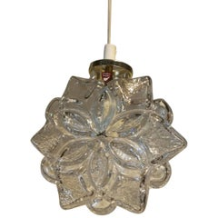 20th Century Snowflake Pendant by Orrefors