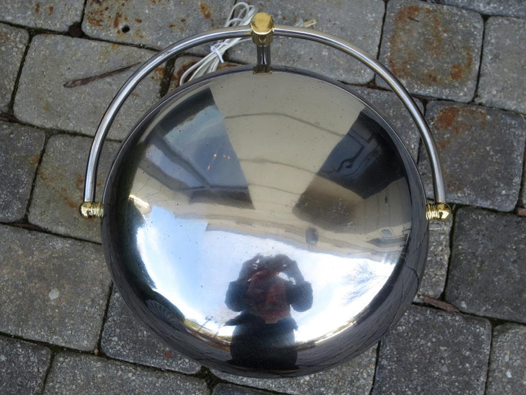 Mid-20th Century Steel Desk Lamp In Good Condition For Sale In Atlanta, GA